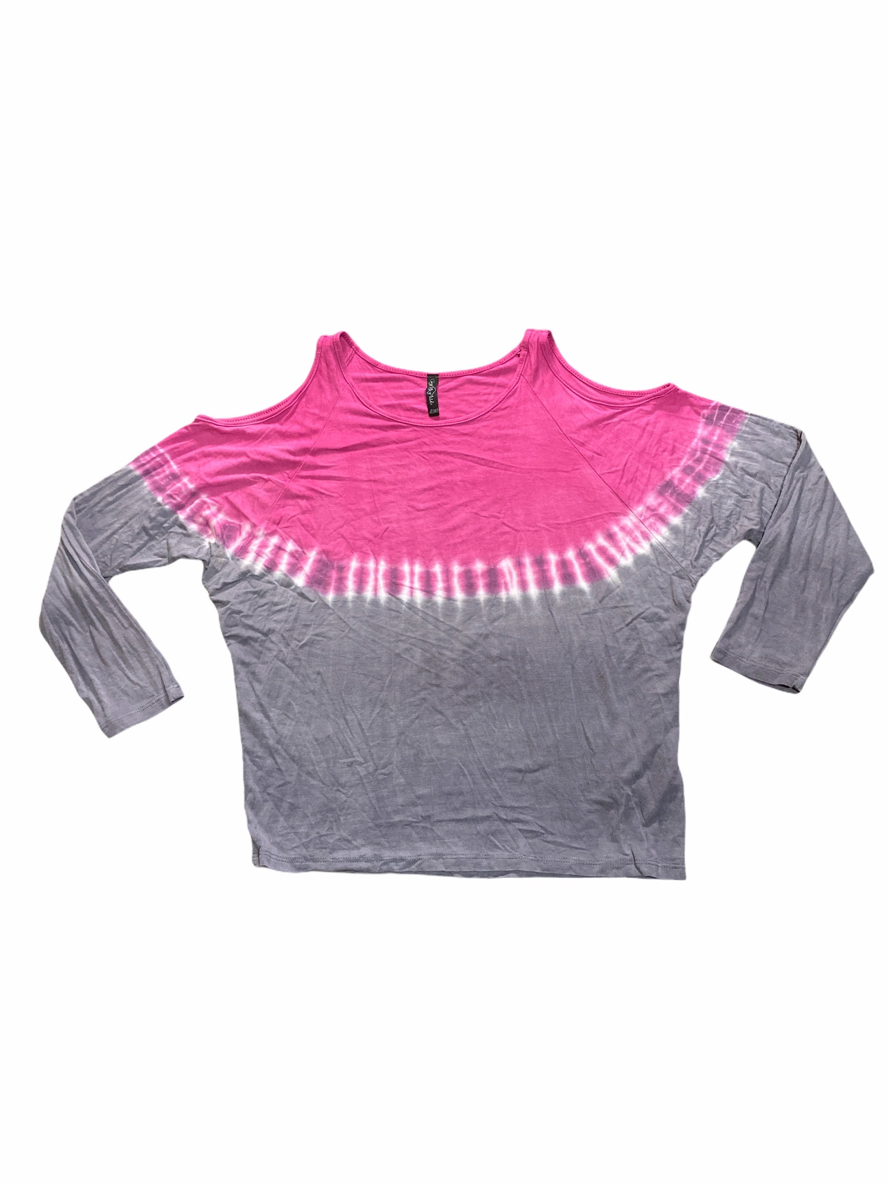 Gypsy Sky Kids Purple Tie Dye Top (12 Girls)