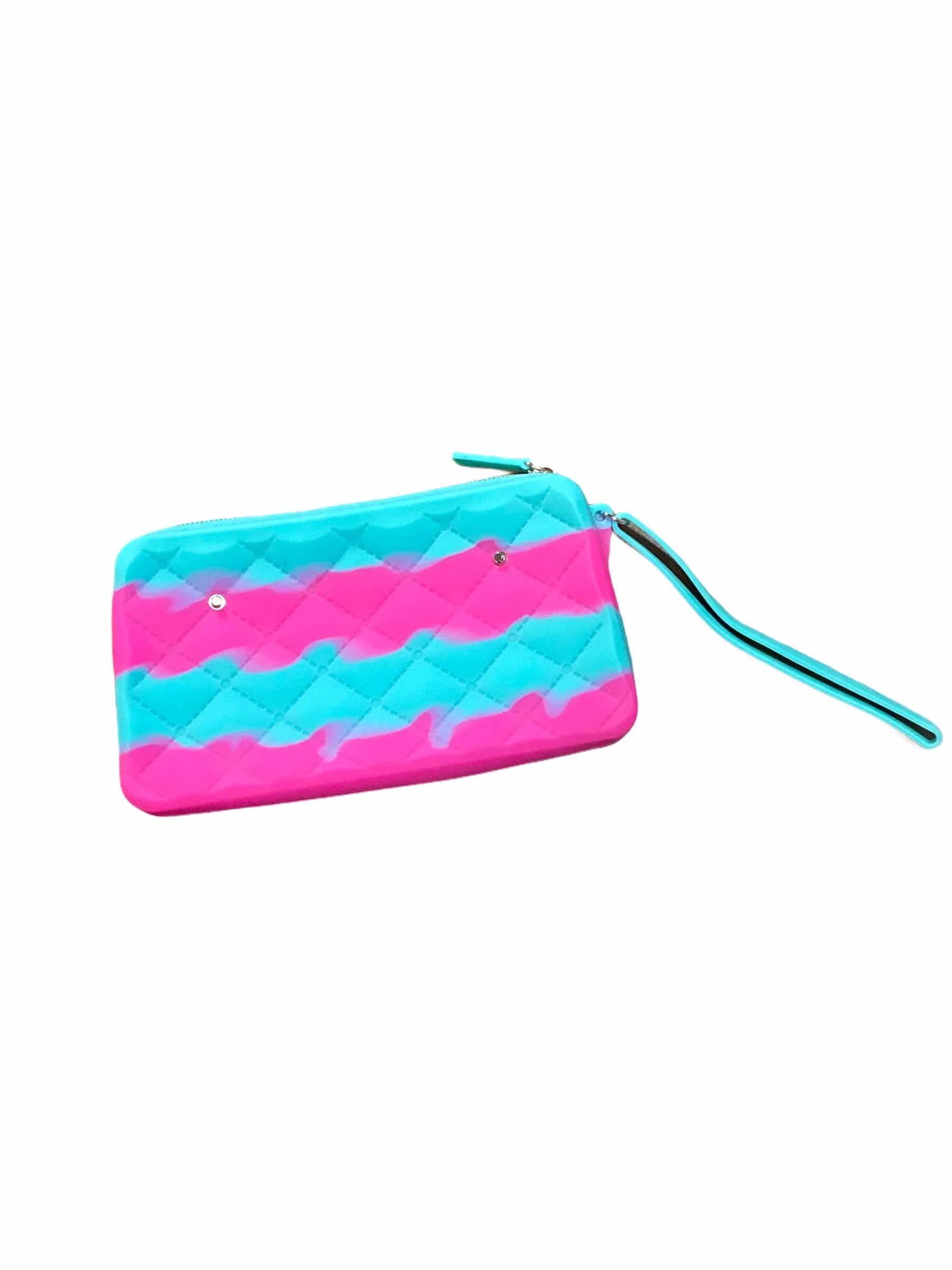 Gummy Bag Pink & Teal Purse