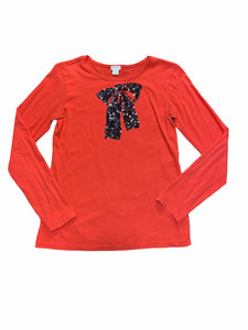 Crewcuts Red Black Bow Top (14 Girls)