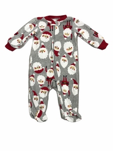 Carter's Santa Fleece Sleeper (6M Boys)