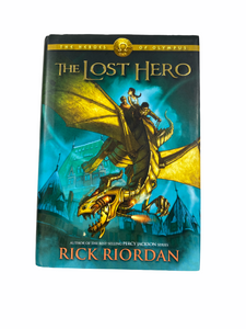 The Heroes of Olympus - The Lost Hero (Hard Back)