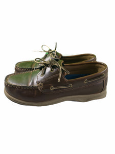 Lands' End Brown Loafers (Size 4Y)