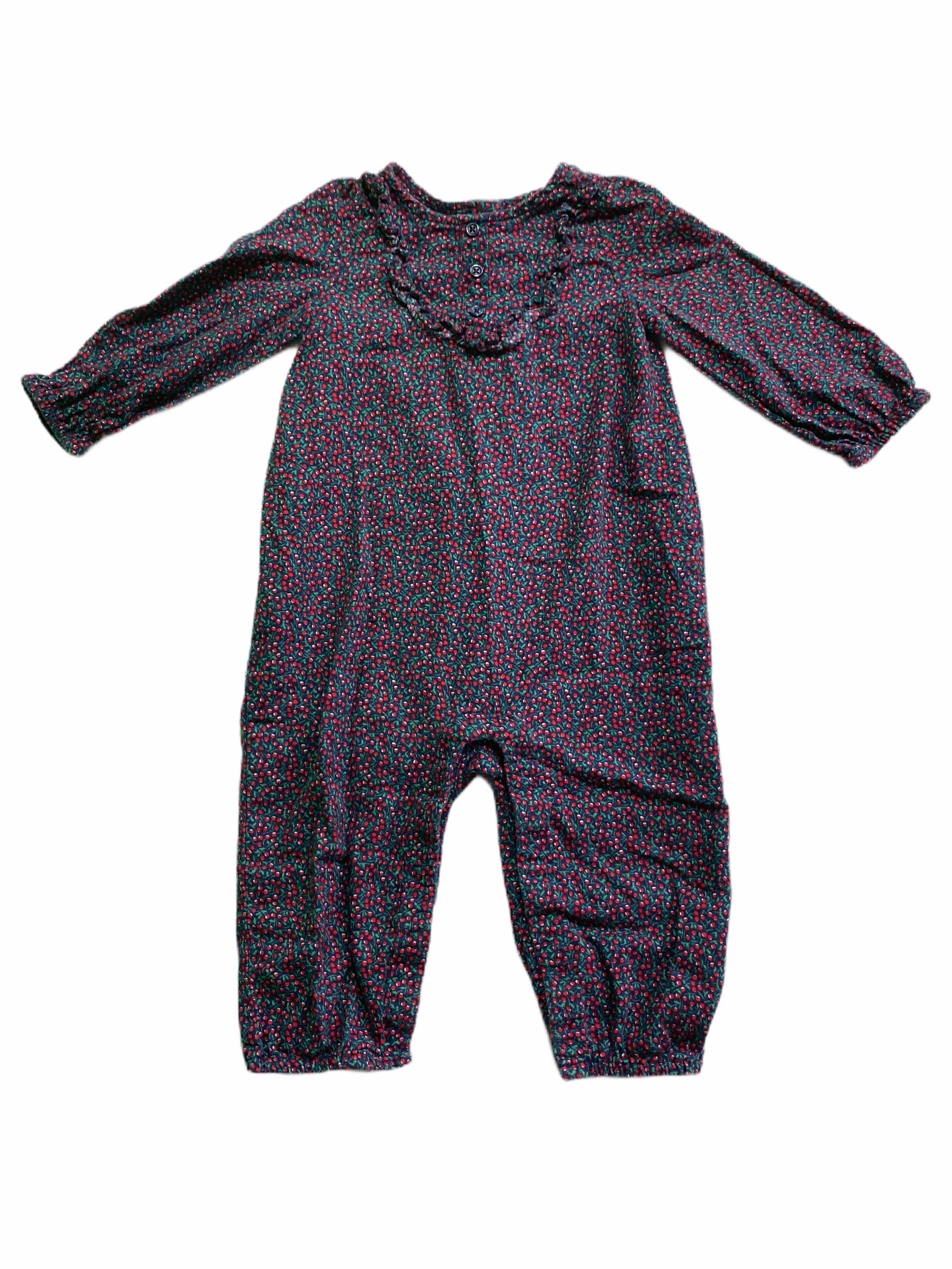 Gap Cherry Print Romper (6/12M Girls)