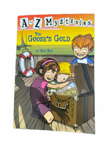 A to Z Mysteries The Goose's Gold