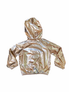 Gymboree Gold Rain Jacket (5/6 Girls)