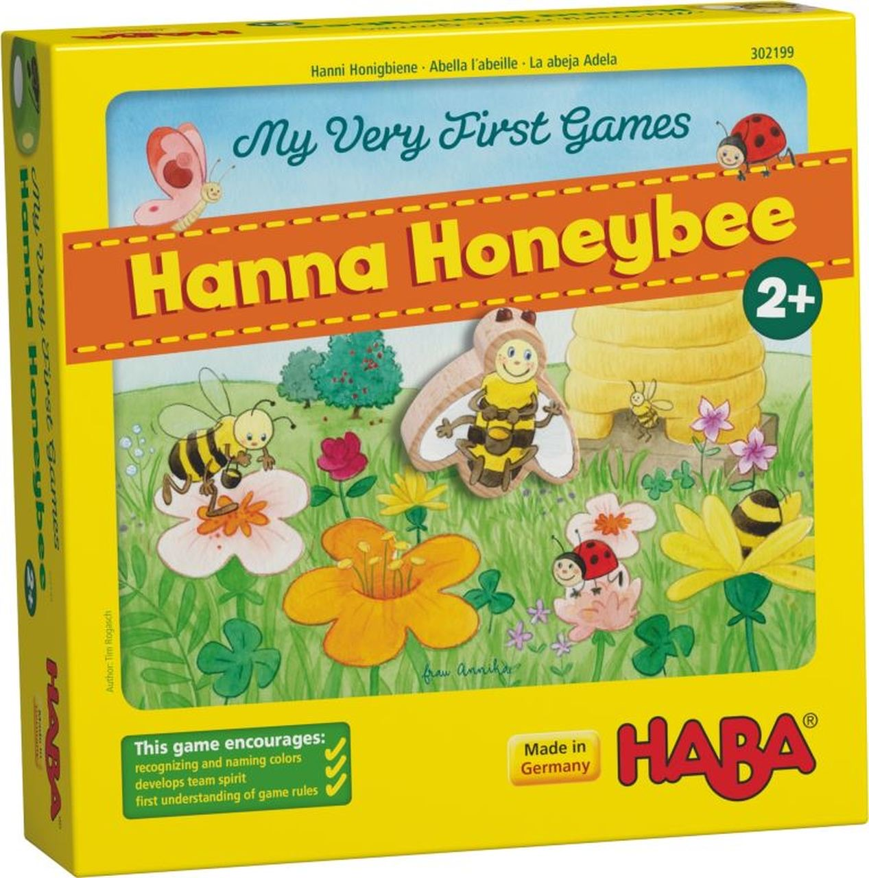 HABA Hanna Honeybee Game