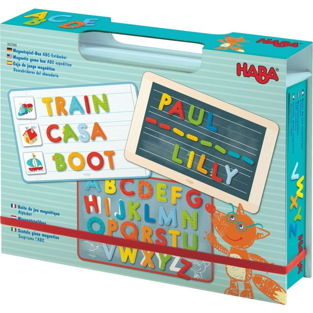HABA Magnetic Game Box ABC
