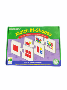 The Learning Journey Match It! Shapes