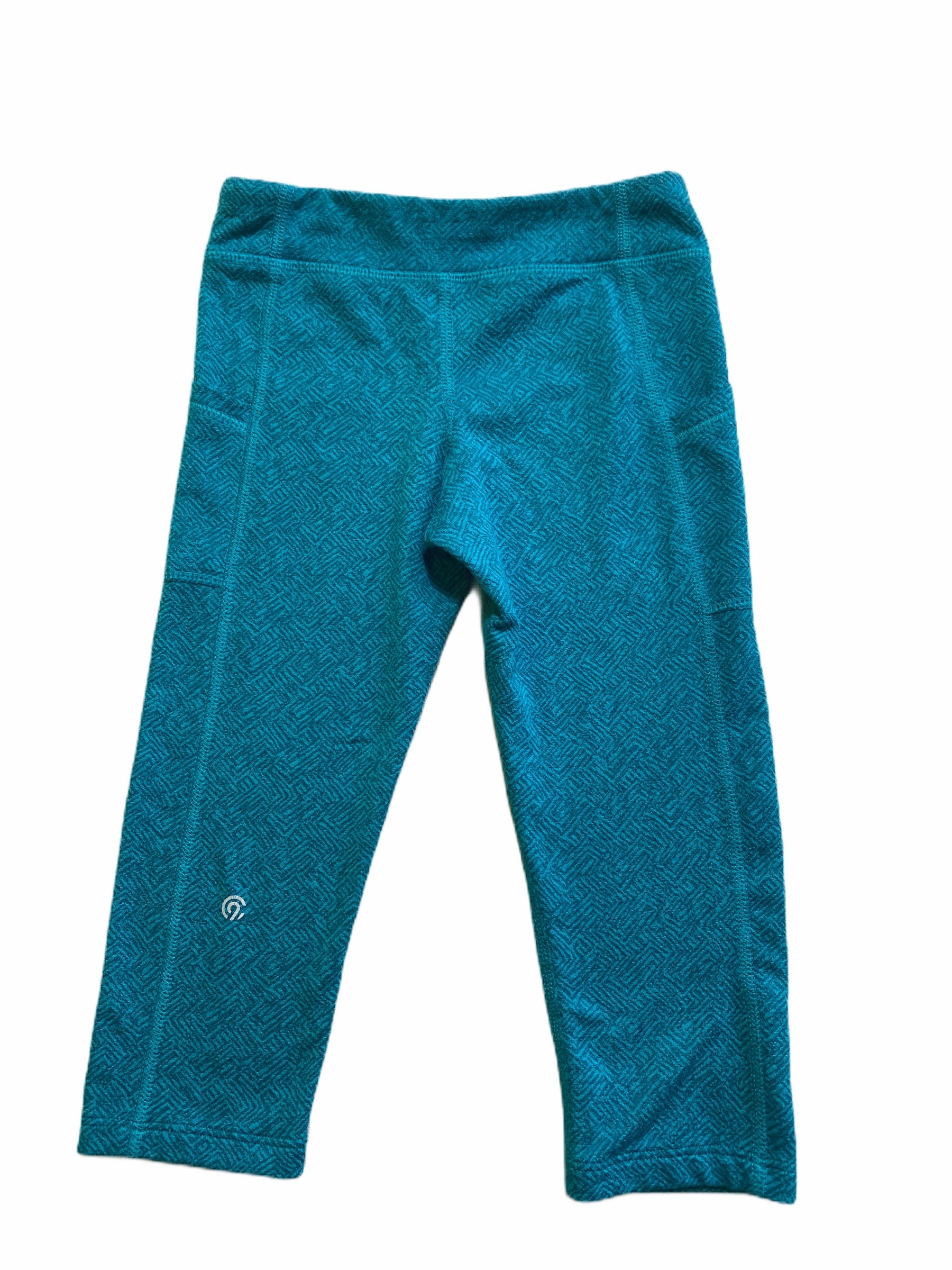 Champion Teal Athletic Capri (6/6X Girls)