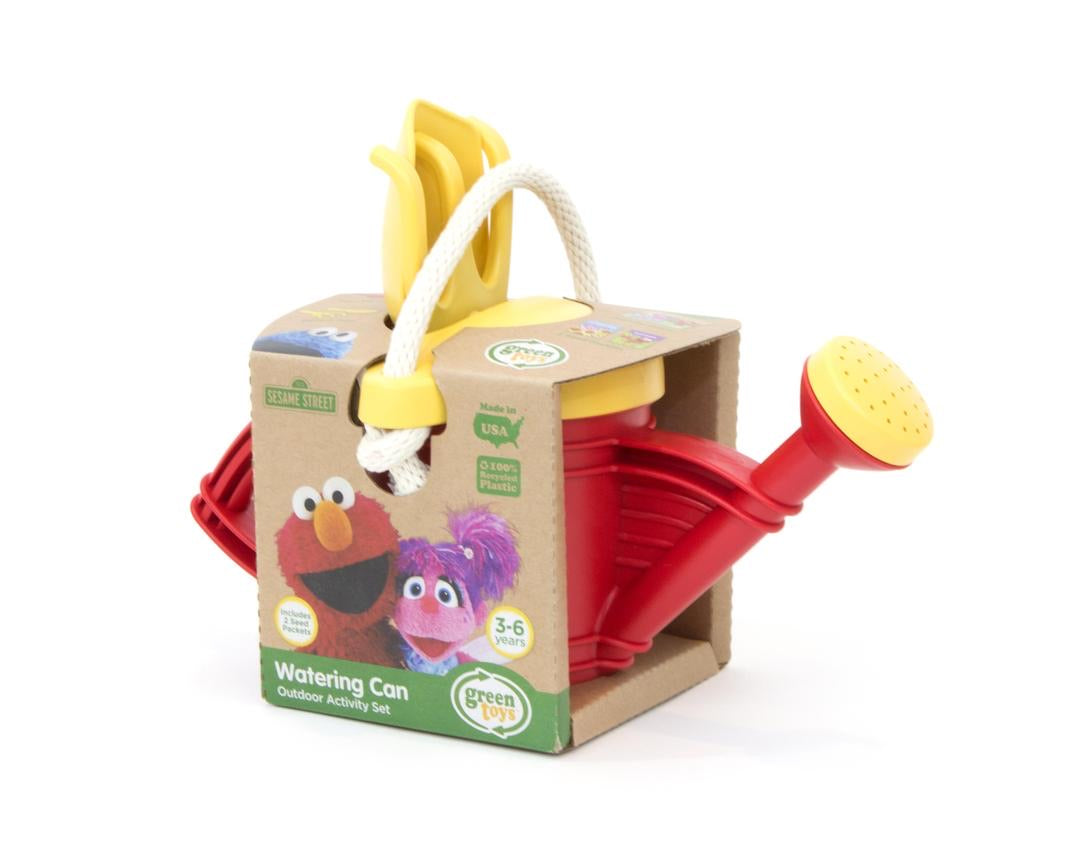 Green Toys Watering Can Activity Set Elmo