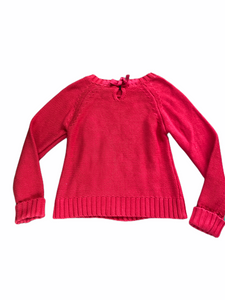 Arizona Red Knit Sweater (10/12 Girls)