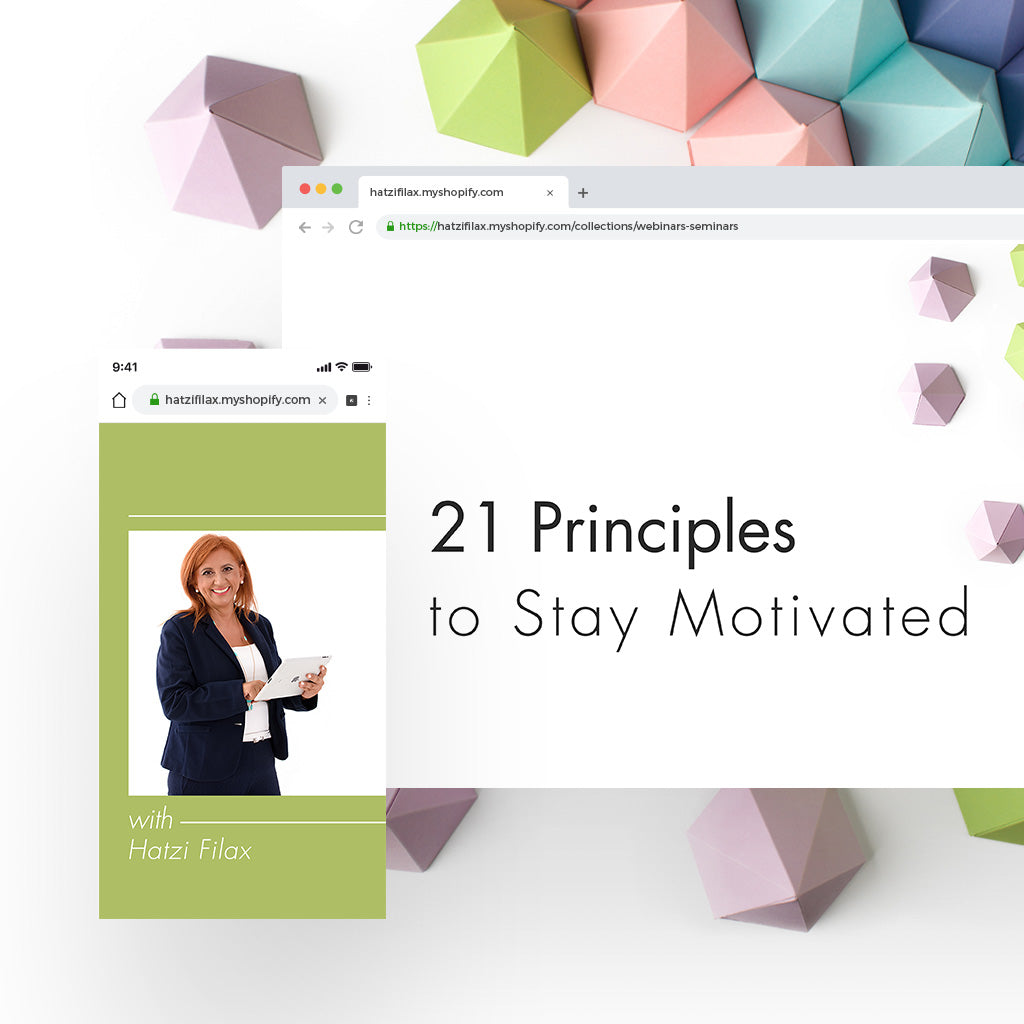 21 Principles to Stay Motivated