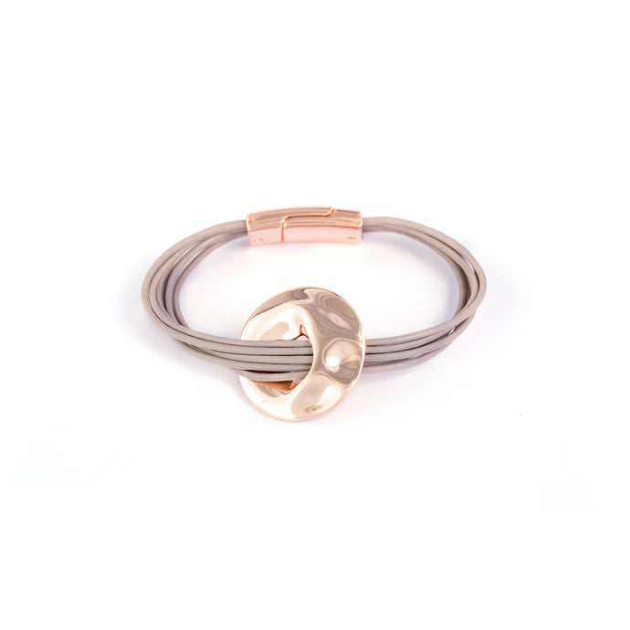 Riva Capture Magnetic Rose Gold Bracelet - AmaLily