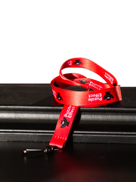 Puzzle Effect Lanyard