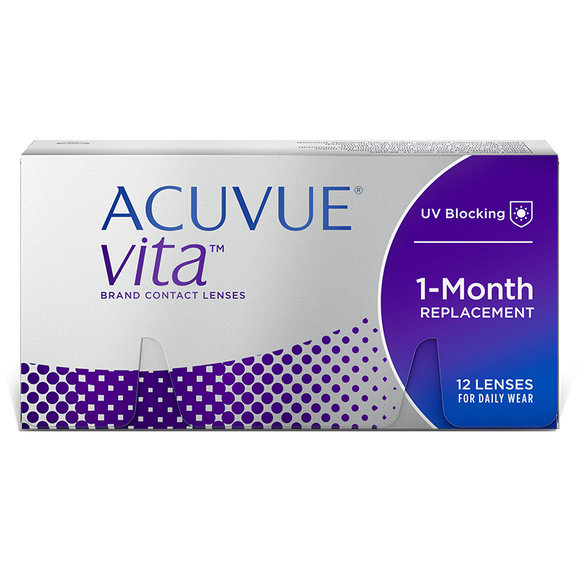 ACUVUE VITA - with Hydramax - MONTHLY -12pk