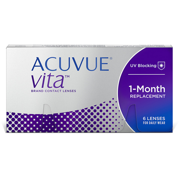 ACUVUE VITA - with Hydramax - MONTHLY -6pk