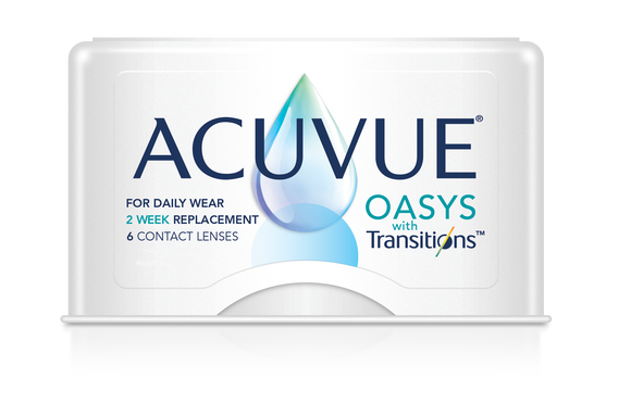 ACUVUE OASYS - TRANSITIONS - 2 WK - 6pk