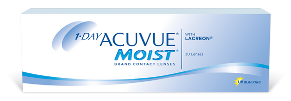 ACUVUE MOIST - 1 DAY - with LACERON - 30-pk