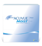 ACUVUE MOIST - 1 DAY - with LACERON - 90pk