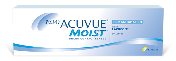 ACUVUE MOIST - 1 DAY - ASTIGMATISM  - 30pk