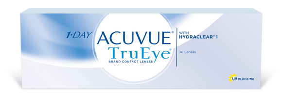 ACUVUE TRUEYE - 1 DAY - with Hydraclear - 30pk