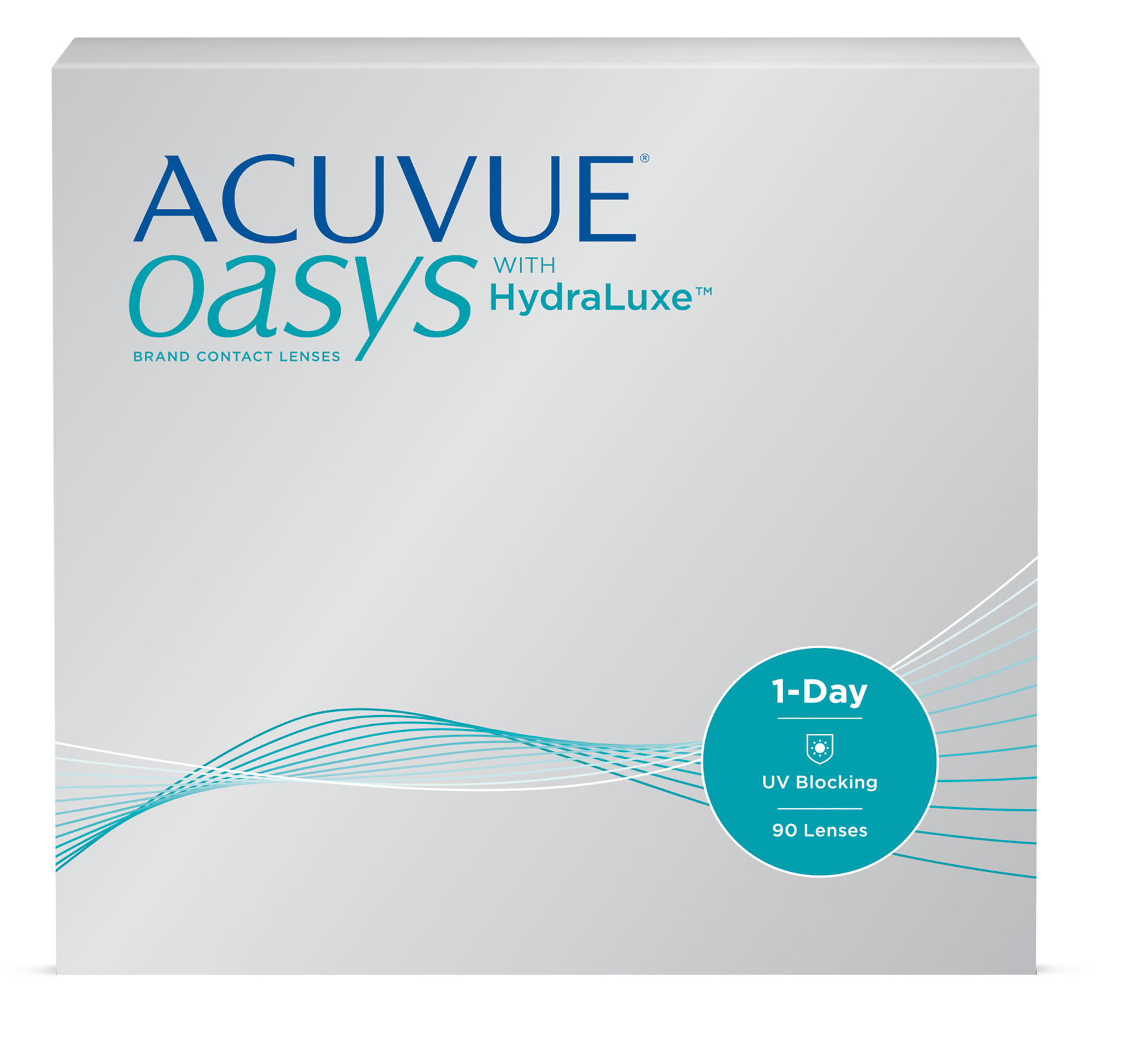ACUVUE OASYS - 1 DAY - with Hydraluxe - 90pk