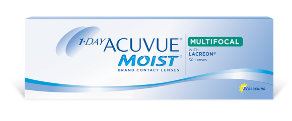 ACUVUE MOIST - 1 DAY - MULTIFOCAL - 30 pk