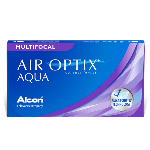 AIR OPTIX - MULTIFOCAL - with Hydraglyde - MONTHLY