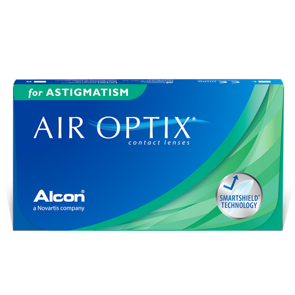 AIR OPTIX - ASTIGMATISM - with Hydraglyde - MONTHLY