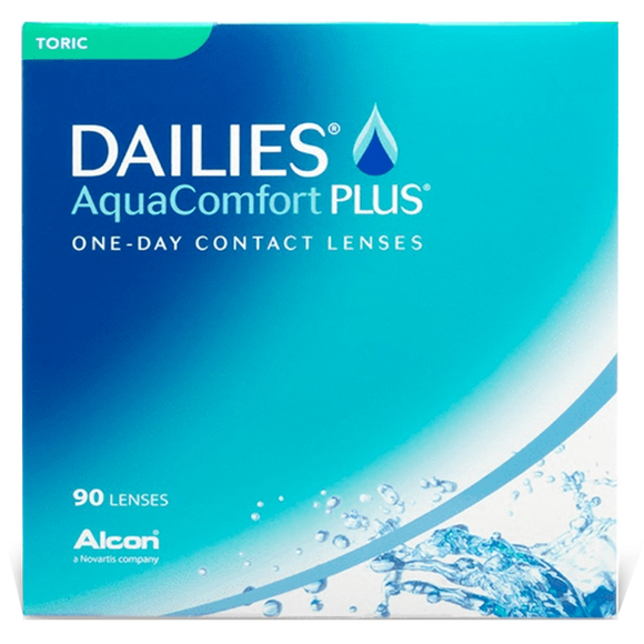 DAILIES - AquaComfort Plus - DAILY -90pk