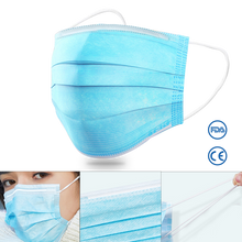 Load image into Gallery viewer, DISPOSABLE Surgical Civilian Use Mask & NOSE BRIDGE