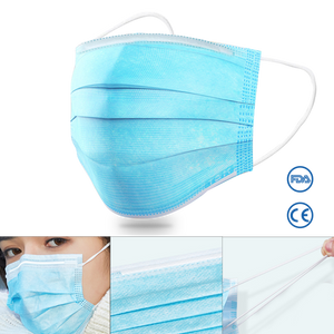 DISPOSABLE Surgical Civilian Use Mask & NOSE BRIDGE