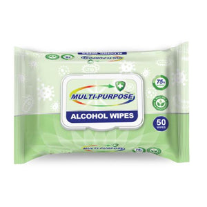 75% ALCOHOL WIPES 50 PACK