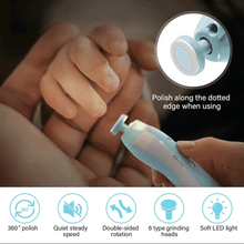 Load image into Gallery viewer, My Little Hands™ Premium LED Baby Nail Trimmer Set