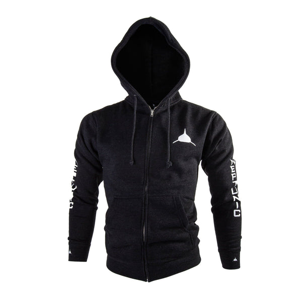 Neptunic Sharksuits Charcoal Zip-up Hoodie