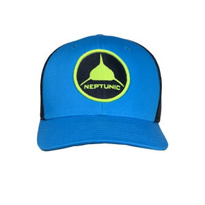 Cyan Circle Patch Hat