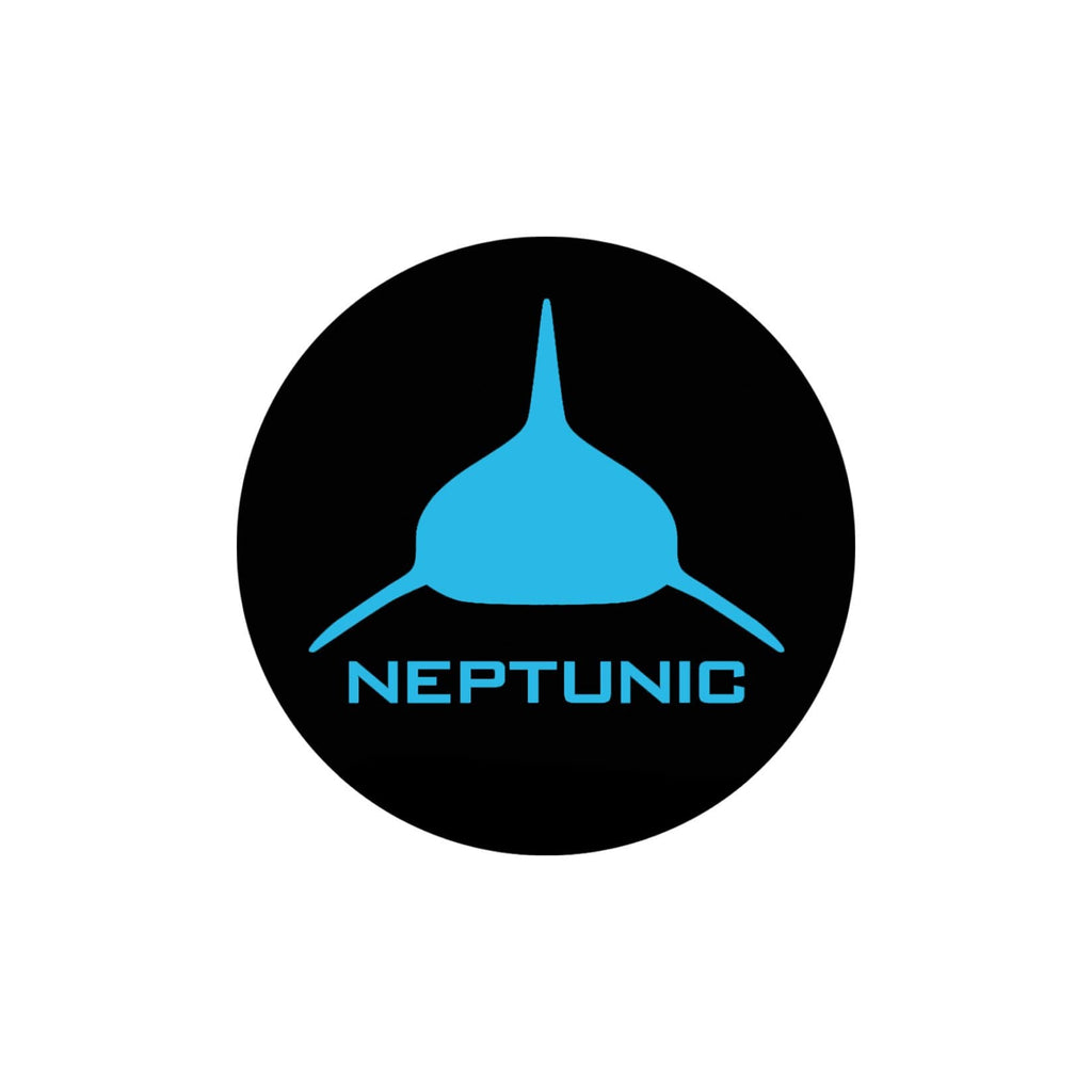 NEPTUNIC Circle Decal -   Cyan Blue