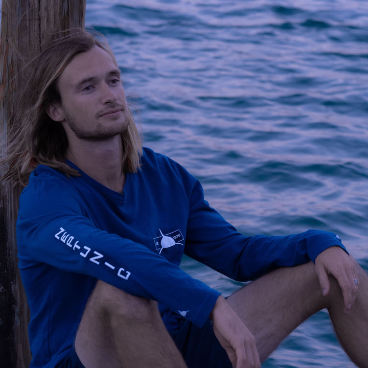 Neptunic 1978 Block Long Sleeve Tee