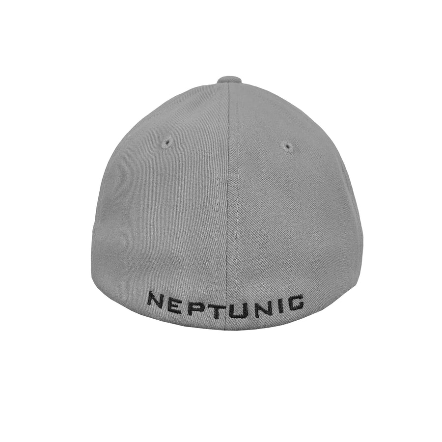 Neptunic Flexfit Performance Grey & Black Hat
