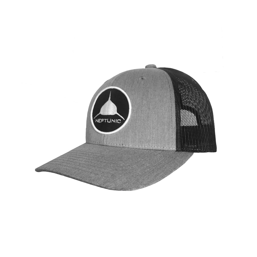 Circle Patch Grey Hat