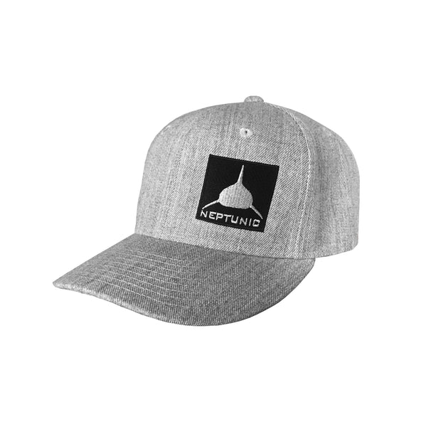 Grey Patch Hat