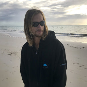 Neptunic Lockup Patch Zip-up Hoodie