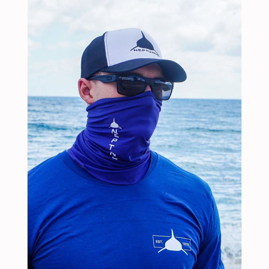 Neptunic Neck Gaiter Royal Blue