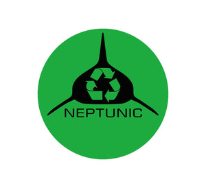Neptunic Recycle Decal - Green Circle