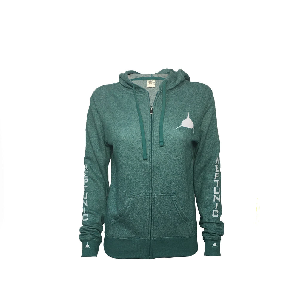 Neptunic Women's Zip Hoodie in Sea Foam