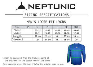 Men's Loose Fit Lycra in Ocean Marine