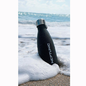 Neptunic Swell Bottle - Matte Black- Plus Extra Swing Cap