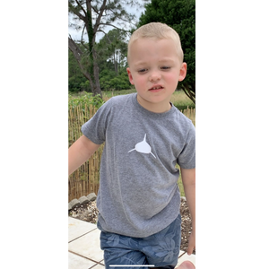 Toddler Tee in Grey