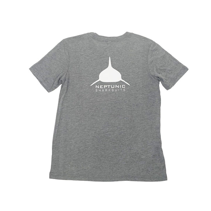 Unisex Youth Tee in Grey