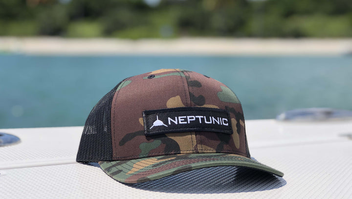 Neptunic Camo Patch Hat